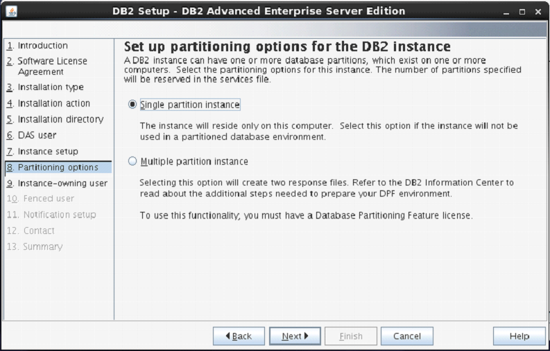 DB2 Instance Name