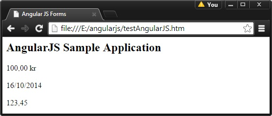 AngularJS Internalization