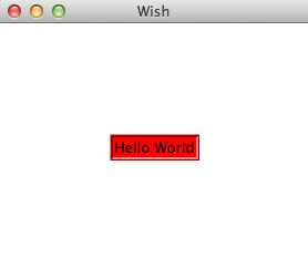 Hello World Options