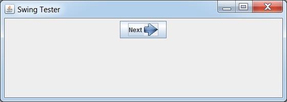 创建带有Icon和Text的按钮