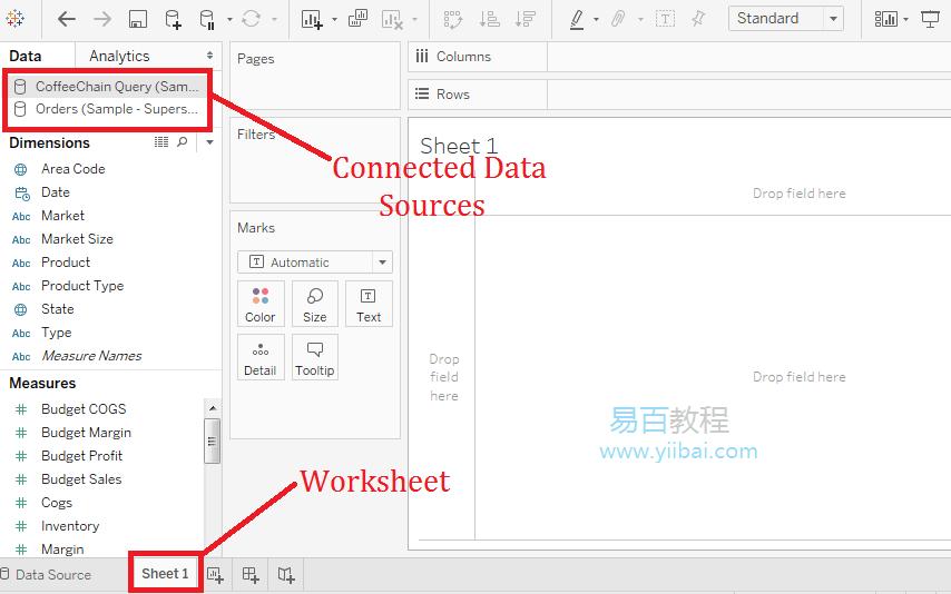 Tableau替换数据源