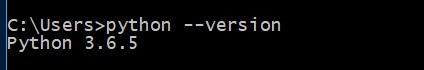 查看Python版本