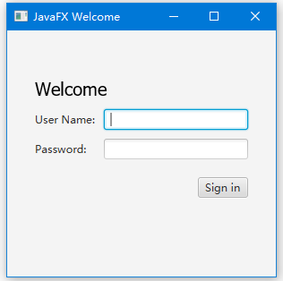 javafx how to fix button at hbox right