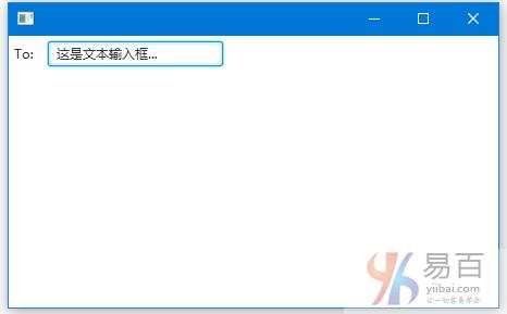 JavaFX文本域(输入框) - JavaFX教程™