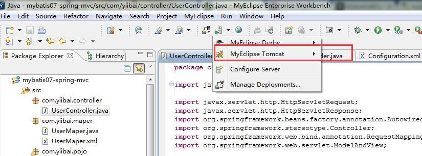 MyBatis整合Spring MVC - MyBatis教程™