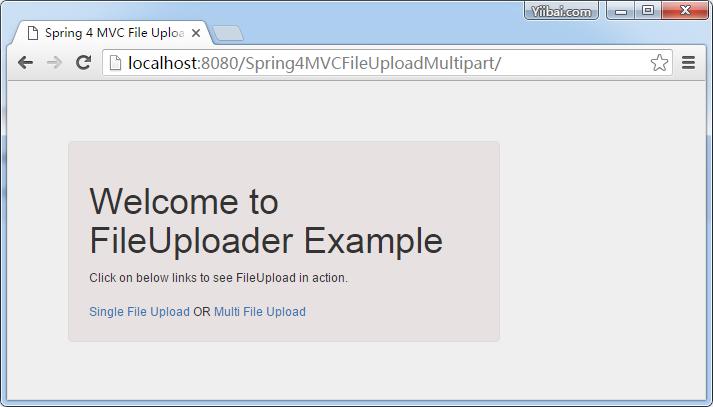 Spring MVC4使用Servlet3 MultiPartConfigElement文件上传实例- Spring